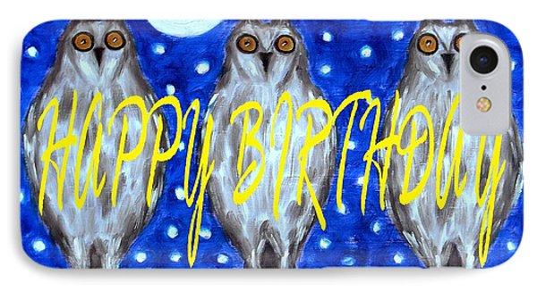 Happy Birthday 13 IPhone Case by Patrick J Murphy