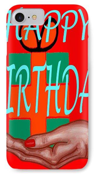 Happy Birthday 3 Phone Case by Patrick J Murphy
