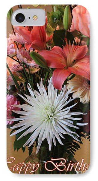 Happy Birthday Card Phone Case by Carol Groenen