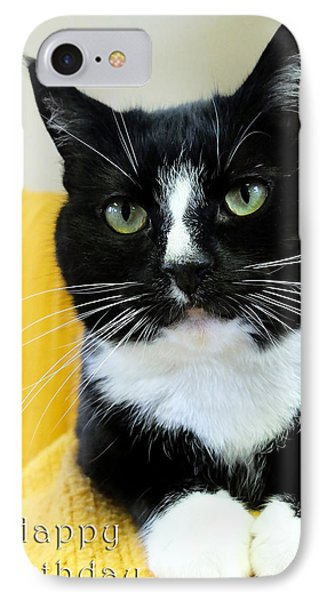 Happy Birthday Card IPhone Case by Michele Wright