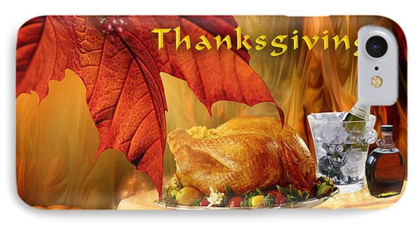Happy Canadian Thanksgiving IPhone Case