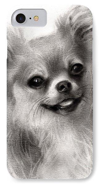 Happy Chihuahua Dog Portrait IPhone Case by Svetlana Novikova