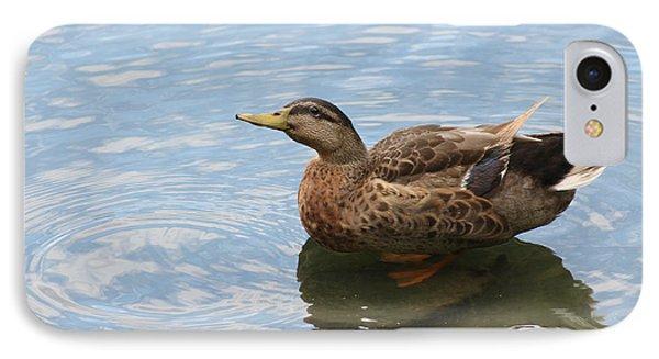 Happy Duck IPhone Case by Jeanne Kay Juhos