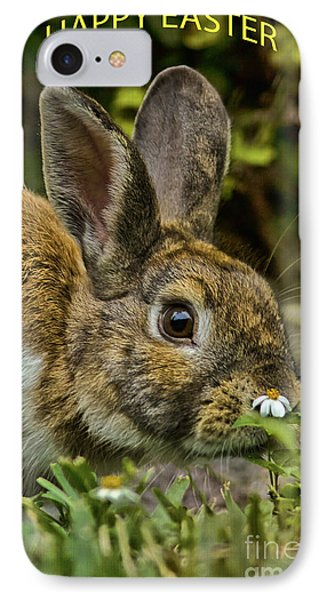 Happy Easter IPhone Case by Anne Rodkin