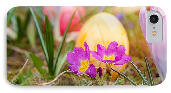 IPhone Case featuring the photograph Happy Easter by Christine Sponchia