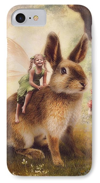 Happy Easter Phone Case by Cindy Grundsten