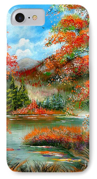 Happy Ever After Autumn  IPhone Case by Patrice Torrillo