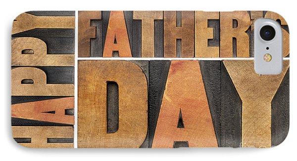 Happy Father Day IPhone Case by Marek Uliasz