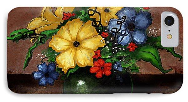 Happy Flowers IPhone Case by Terry Webb Harshman