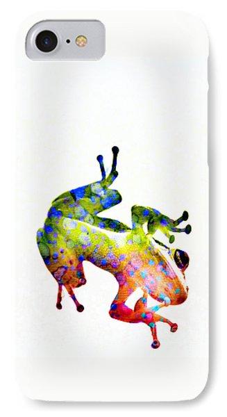 Happy Frog IPhone Case by Darla Wood