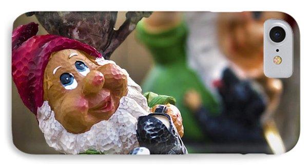 Happy Gnomes IPhone Case by Samir Mustafic