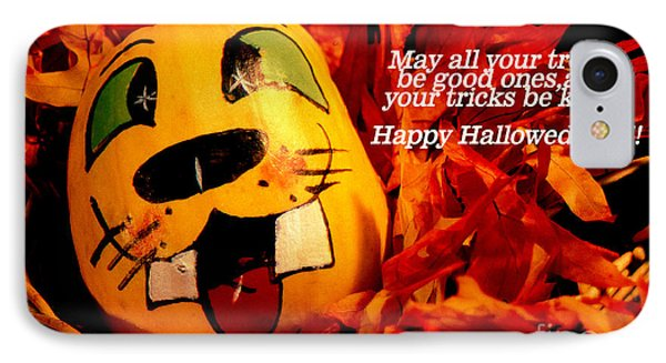 Happy Hallowed Eve IPhone Case by Gary Brandes