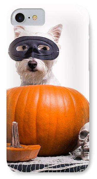 Happy Halloween IPhone Case by Edward Fielding