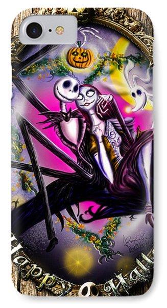 Happy Halloween IIi IPhone Case by Alessandro Della Pietra