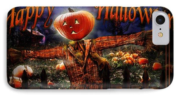 Happy Halloween Iv IPhone Case by Alessandro Della Pietra