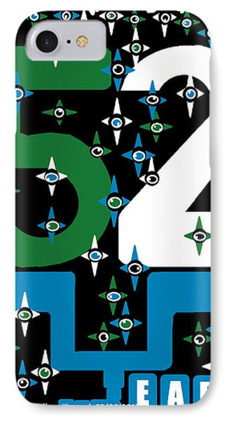 IPhone Case featuring the digital art Be A Happy Fifty-two Years In The Makings  by Mudiama Kammoh