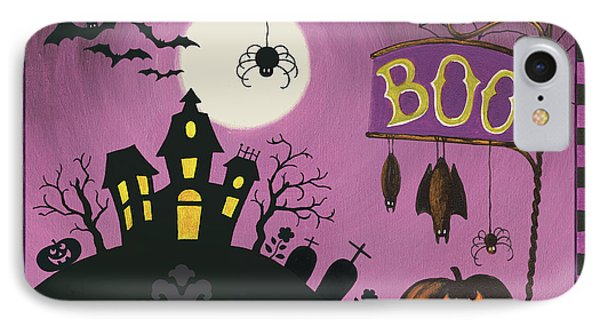Happy Haunting Boo IPhone Case