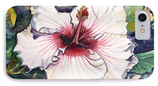 Happy Hawaiian Hibiscus IPhone Case by Marionette Taboniar