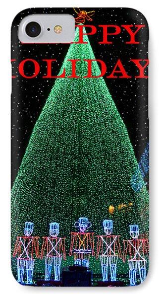 Happy Holidays Phone Case by David Lee Thompson