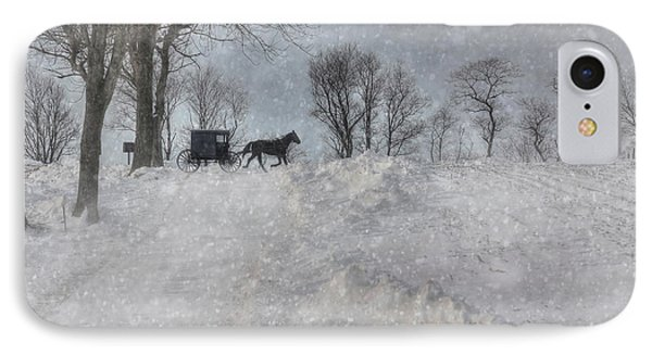 Happy Holidays From Pa IPhone Case by Lori Deiter