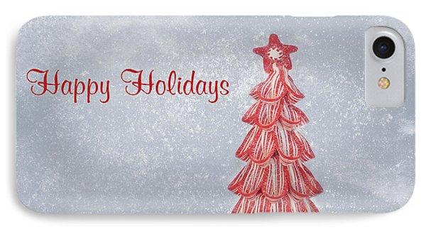 Happy Holidays Phone Case by Kim Hojnacki