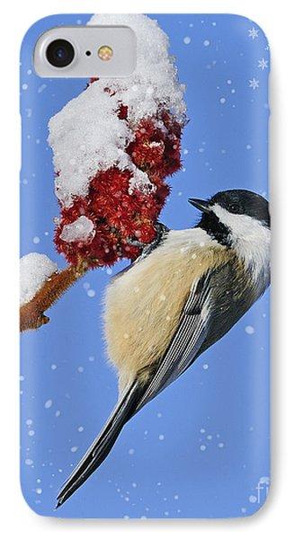 Happy Holidays... Phone Case by Nina Stavlund