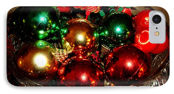 Happy Holidays IPhone Case by Saad Hasnain