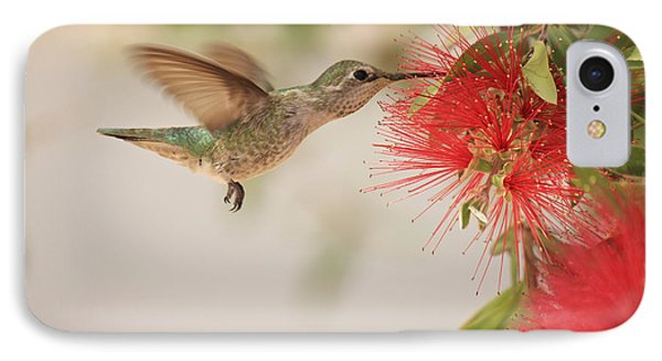 Happy Humming IPhone Case by Penny Meyers