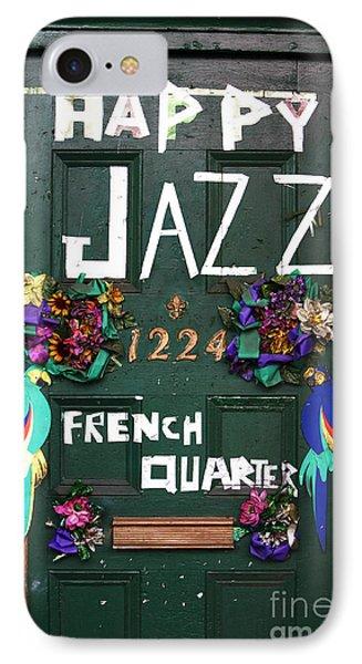 Happy Jazz Phone Case by John Rizzuto