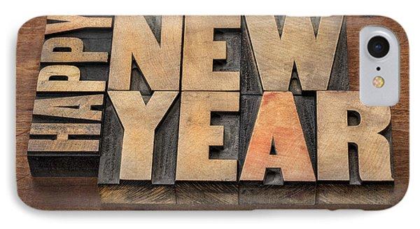 Happy New Year IPhone Case by Marek Uliasz