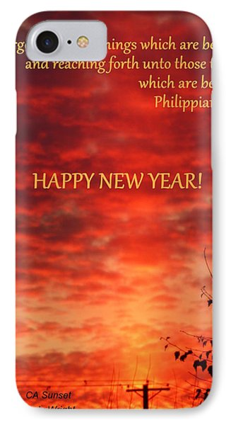 Happy New Year Sunset IPhone Case