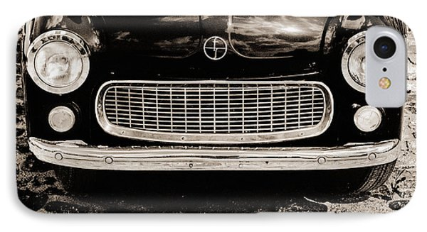 IPhone Case featuring the photograph Happy Old Car by Arkady Kunysz