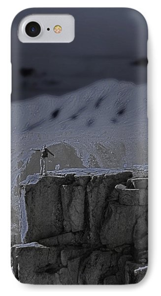 Happy On The Edge Phone Case by Jeremy Rhoades