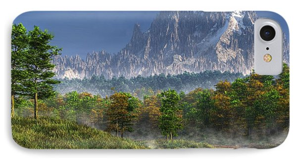 Happy River Valley IPhone Case by Daniel Eskridge