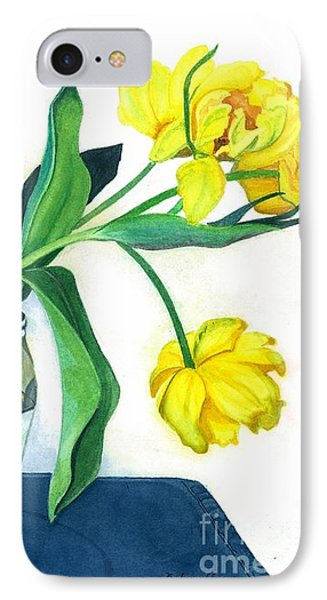 Happy Spring Phone Case by Barbara Jewell
