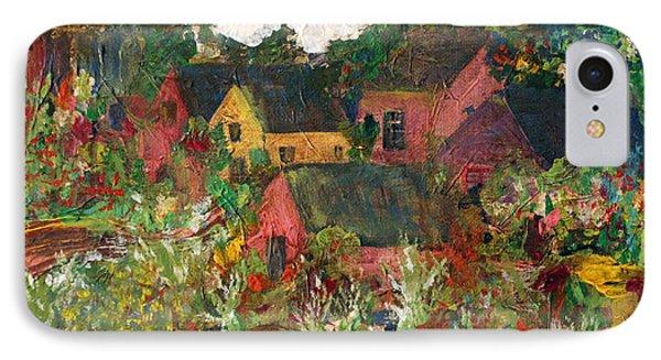 Happy Village Phone Case by Deborah Montana