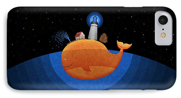 Happy Whale House Phone Case by Gianfranco Weiss