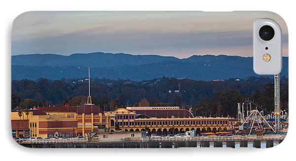 Harbor And Municipal Wharf At Dusk IPhone Case