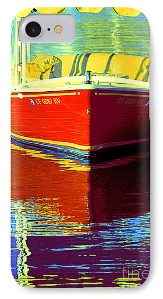 IPhone Case featuring the photograph Harbor Boatin by Joanne Coyle