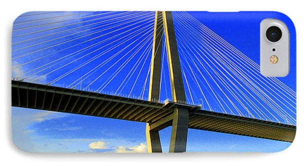 Harbor Bridge 3 IPhone Case by Randall Weidner