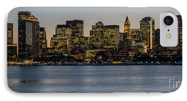 Harbor City IPhone Case by Stephen Flint
