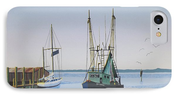 Harbor Days End IPhone Case