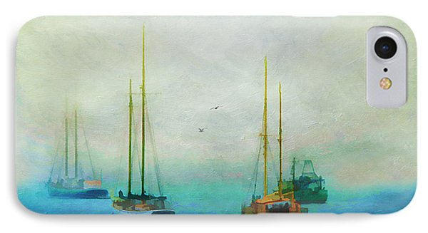 Harbor Fog Phone Case by Darren Fisher