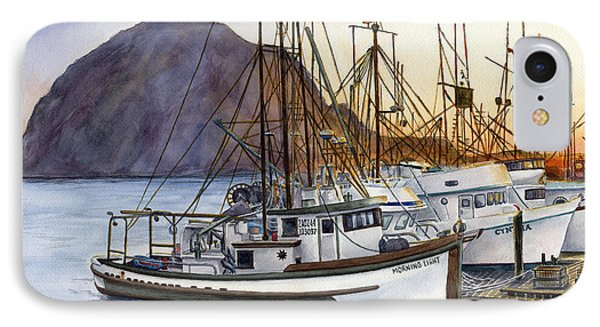 Harbor Home IPhone Case by Karen Wright