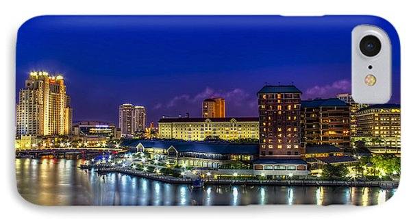 Harbor Island Nightlights IPhone Case
