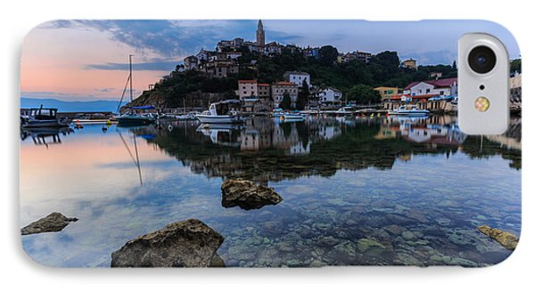 Harbor Reflection Phone Case by Davorin Mance