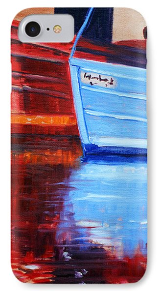 Harbor Reflection IPhone Case by Nancy Merkle