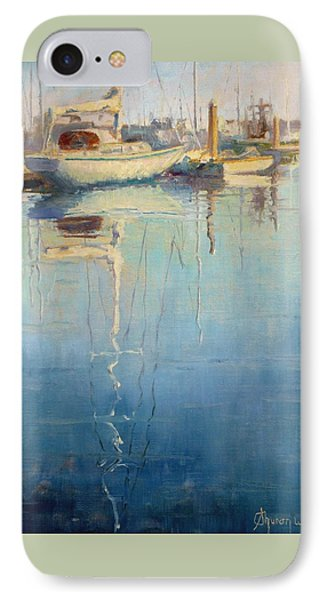 Harbor Reflection Phone Case by Sharon Weaver