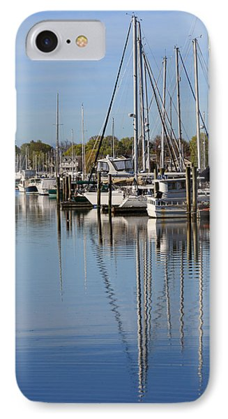 Harbor Reflections Phone Case by Karol Livote