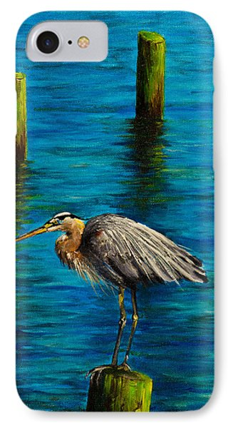 Harbor Sentry IPhone Case by C Steele